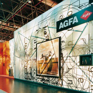 Exhibition stand Agfa Graphic Systems @ Imprinta Düsseldorf