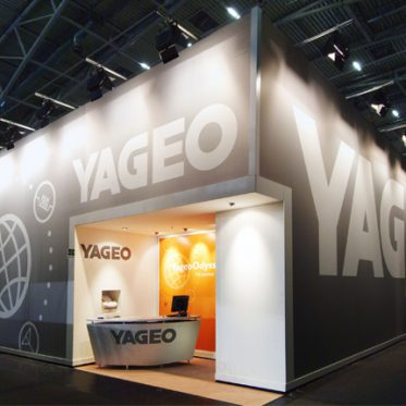 Exhibition stand Yageo @ Electronica Munchen